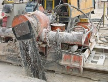 Chain coal cutting hewer