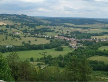 Landscape of Vezelay